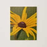 Black Eyed Susan Solitude Jigsaw Puzzle