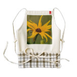 Black Eyed Susan Solitude Zazzle HEART Apron