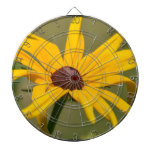 Blooming Black Eyed Susan Dartboard