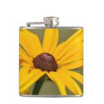 Blooming Black Eyed Susan Flask