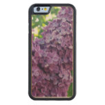 Blooming Lilac Carved Maple iPhone 6 Bumper Case