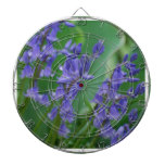 Dew on Bell Flowers Dart Boards