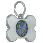 Dew on Bell Flowers Pet Name Tag