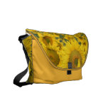 Field of Sunflowers Messenger Bag