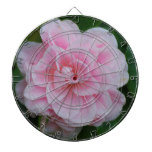 Flowering Pink Camelia Dartboard