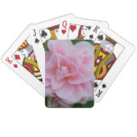 Flowering Pink Camelia Playing Cards