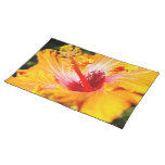 Orange Hibiscus Placemat
