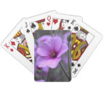Perfect Geranium Playing Cards
