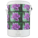 Perfectly Purple Parrot Tulip Beverage Cooler