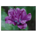 Perfectly Purple Parrot Tulip Cutting Board