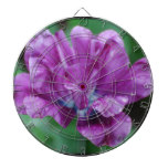 Perfectly Purple Parrot Tulip Dartboard With Darts