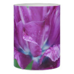 Perfectly Purple Parrot Tulip Flameless Candle