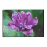 Perfectly Purple Parrot Tulip Placemat