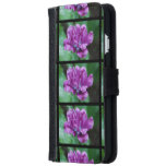 Perfectly Purple Parrot Tulip Wallet Phone Case For iPhone 6/6s