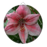 Pink Amaryllis Dartboards