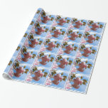 Pink Flowering Cherry Tree Wrapping Paper
