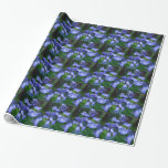 Pretty Bell Flowers Wrapping Paper