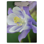 Pretty Columbine Flower Clipboard