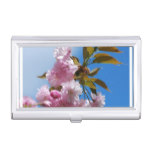 Pretty Pink Cherry Tree Case For Business Cards