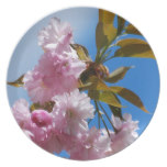 Pretty Pink Cherry Tree Dinner Plate