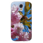 Pretty Pink Cherry Tree Galaxy S4 Case