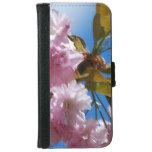 Pretty Pink Cherry Tree iPhone 6/6s Wallet Case