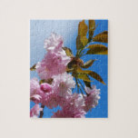 Pretty Pink Cherry Tree Jigsaw Puzzle