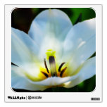 Pretty White Tulips Wall Sticker