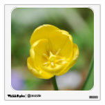 Pretty Yellow Tulip Wall Decal