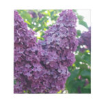 Purple Lilacs Notepad