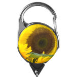 Sunflowers in Bloom Badge Holder