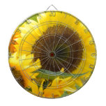 Sunflowers in Bloom Dart Boards