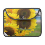 Sunflowers in Bloom Sleeve For MacBooks
