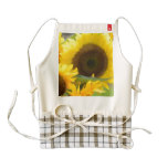 Sunflowers in Bloom Zazzle HEART Apron