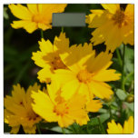 Yellow Coreopsis Bathroom Scale