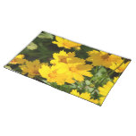 Yellow Coreopsis Cloth Placemat