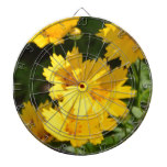 Yellow Coreopsis Dart Boards