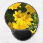 Yellow Coreopsis Gel Mouse Pad
