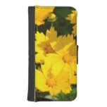 Yellow Coreopsis iPhone SE/5/5s Wallet