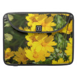 Yellow Coreopsis MacBook Pro Sleeve