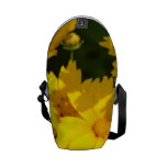 Yellow Coreopsis Messenger Bag