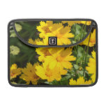 Yellow Coreopsis Sleeve For MacBook Pro