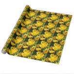 Yellow Coreopsis Wrapping Paper